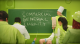 Green classroom with green chalkboard reading commercial general liability