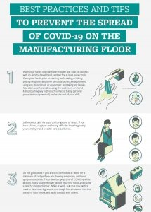 TSI- 6 best practices and tips to prevent the spread of COVID-19 on the manufacturing floor